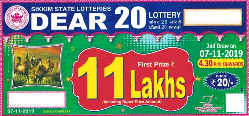 Sikkim state lotteries