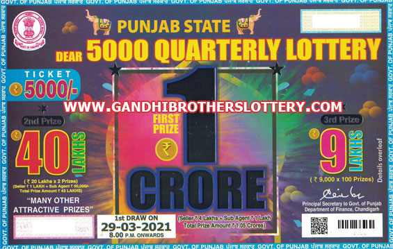 Monthly Lottery